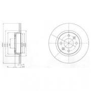 Тормозной диск DELPHI BG4045