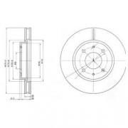 Гальмівний диск DELPHI BG4068