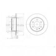 Гальмівний диск DELPHI BG4033
