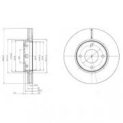Тормозной диск DELPHI BG4127