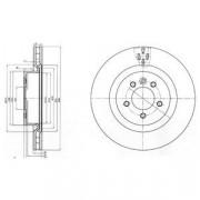 Тормозной диск DELPHI BG9007C