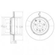 Тормозной диск DELPHI BG9082C