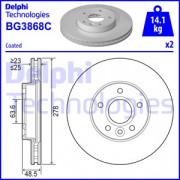 Тормозной диск DELPHI BG3868C