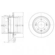 Тормозной диск DELPHI BG4082C