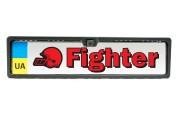 Камера заднего / переднего вида Fighter FC-101 в рамке номерного знака
