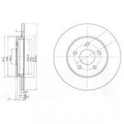 Тормозной диск DELPHI BG3663C