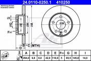 Гальмівний диск ATE 24.0110-0250.1