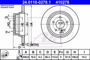 Тормозной диск ATE 24.0110-0278.1