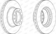 Тормозной диск BERAL BCR201A