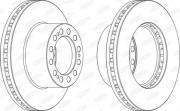 Тормозной диск BERAL BCR204A