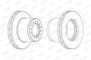 Тормозной диск BERAL BCR189A