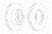 Тормозной диск BERAL BCR214A