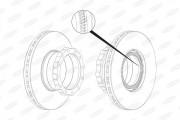 Тормозной диск BERAL BCR148A