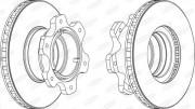 Тормозной диск BERAL BCR208A