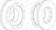 Тормозной диск BERAL BCR172A