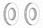 Тормозной диск BERAL BCR259A