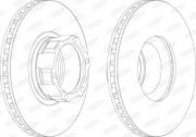 Тормозной диск BERAL BCR119A