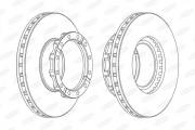 Тормозной диск BERAL BCR254A