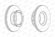 Тормозной диск BERAL BCR173A