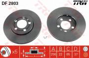 Гальмівний диск TRW DF2803