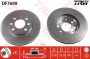 Тормозной диск TRW DF1609