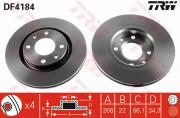 Гальмівний диск TRW DF4184