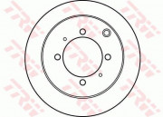 Гальмівний диск TRW DF4193