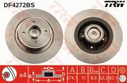 Гальмівний диск TRW DF4272BS