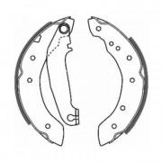 ABE Барабанные тормозные колодки ABE C0V002ABE