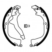 ABE Барабанные тормозные колодки ABE C0W023ABE