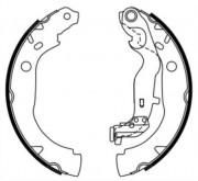 ABE Барабанные тормозные колодки ABE C0R033ABE