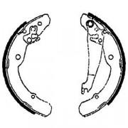 Барабанные тормозные колодки DELPHI LS1784