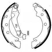 Барабанные тормозные колодки DELPHI LS1842