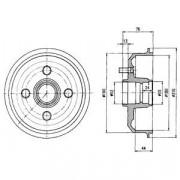Тормозной барабан DELPHI BF229