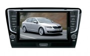 Штатная магнитола Phantom DVM-1877G iS для Skoda Octavia A7 2012+