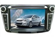 Штатная магнитола Phantom DVM-1010G x5 для Hyundai Accent 2011+