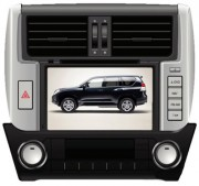 Штатная магнитола Phantom DVM-3046G HDi Silver для Toyota Land Cruiser 150 Prado 2010-2013 (в комплектациях Lux, Lux+)