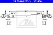 Тормозной шланг ATE 24.5204-0233.3