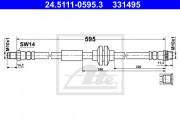 Тормозной шланг ATE 24.5111-0595.3