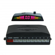 Парктроник Falcon 858K для заднего и переднего бампера с LED-дисплеем
