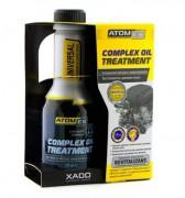 Антидымная присадка с ревитализантом Xado (Хадо) Atomex Complex oil treatment