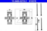 Монтажный комплект тормозных колодок ATE 13.0460-0219.2