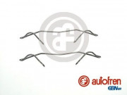 Монтажный комплект тормозных колодок AUTOFREN D42341A