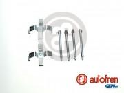 Монтажный комплект тормозных колодок AUTOFREN D42284A