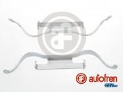 Монтажный комплект тормозных колодок AUTOFREN D42556A