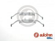 Монтажний комплект гальмівних колодок AUTOFREN D42558A