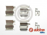 Монтажный комплект тормозных колодок AUTOFREN D42586A