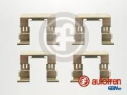 Монтажный комплект тормозных колодок AUTOFREN D42615A
