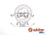 Монтажный комплект тормозных колодок AUTOFREN D42617A
