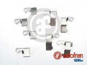 Монтажный комплект тормозных колодок AUTOFREN D42683A